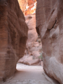 Image of pathway through the rocks